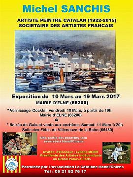 Expo-vente des oeuvres du peintre Michel SANCHIS