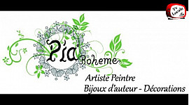 Pia Bohême crée des bijoux  d'auteur uniques au style gypsy faits de pièces chinées, récupérées, ramassées