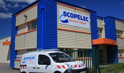 le Groupe SCOPELEC inaugure son Campus formation à Revel  #scopelec #Telecommunication