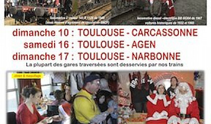 Train historique Toulouse #train #tourisme #toulouse #tvlocale.fr
