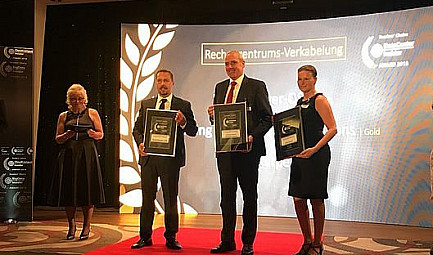 Rosenberger OSI wins IT Award 2018 for the third time in succession @RosenbergerOSI