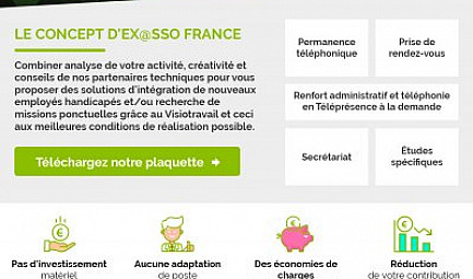 Avec EX@SSO France, ensemble on avance - Facilitateur d'emploi