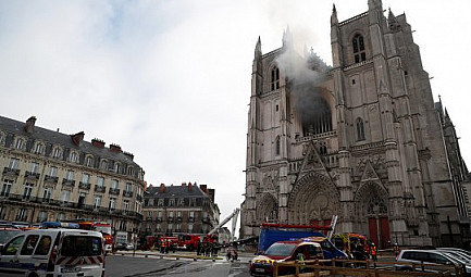 GlobalGeoNews /   Nantes : Symbole de l'embrasement de la France