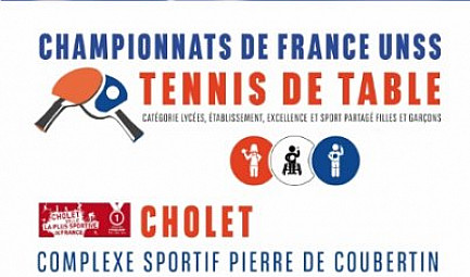 Championnat de France UNSS - Tennis de table.