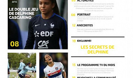 Un magazine 100% football féminin