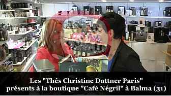 Les Thés Christine Dattner Paris trouvables à la boutique Café Négril de Balma - 31