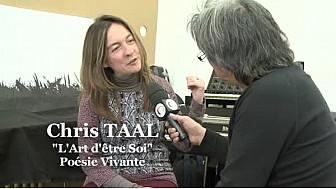 Chris TAAL  la Poêtesse Toulousaine  qu'il vous faut découvrir et surtout écouter