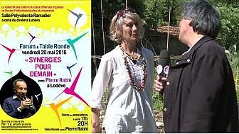 Pierre RABHI à Lodève le 20 mai 2016 à