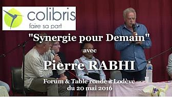 Pierre RABHI avec les Colibris Coeur d'Hérault  à Lodève