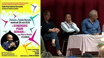 Pierre RABHI avec les Colibris Coeur d'Hérault à 'RENCONTRE SYNERGIE POUR DEMAIN' : L'éducation #Lodève @mvtcolibris #PierreRabhi #TvLocale_fr
