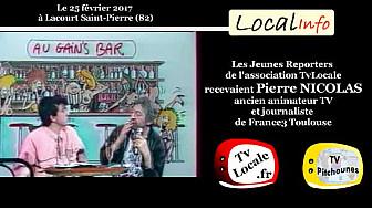 Le journaliste Pierre Nicolas 1er prix journalisme International pour AZF répond aux Jeunes Reporters de TvLocale