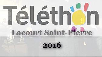 Telethon 2016 Lacourt Saint-Pierre: forte mobilisation des Lacourtois et les reporters TvPitchounes de la TvLocale