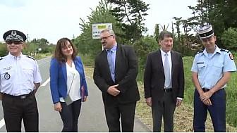 Sécurité Routière #TarnEtGaronne: Pierre Besnard Préfet et Christian Astruc Président du Conseil Régional, du Tarn-et-Garonne en action  #TvLocale_fr