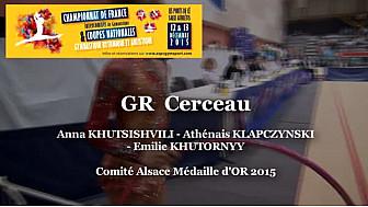 GR Cerceau Comité Alsace : OR au Championnat de France Intercomités de Ponts de Cé @ffgymnastique #TvLocale_fr