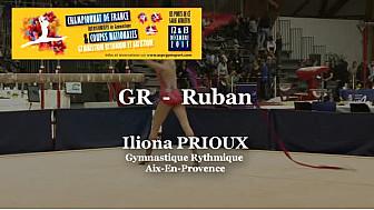 GR Ruban : Iliona PRIOUX au Championnat National  Séniors de Ponts de Cé @ffgymnastique #coupenat2015 #TvLocale_fr