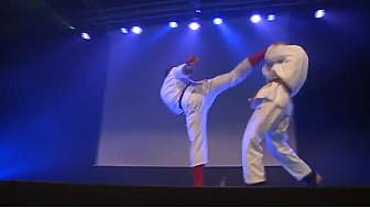 Ju Jitsu Fighting Démonstration  Valentin Bonneau et Belgacem Barhoumi du Toulouse Judo  #JuJitsu