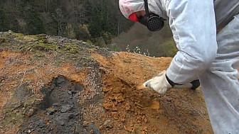 ALERTE Stop Mine de Salau en Ariège : 1ère étape avec le départ du bidon de terril @Ariege @CrtOccitanie @Occitanie