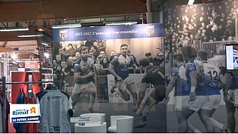 Rugby à XIII: La MUTUELLE DU REMPART et le TO XIII étaient réunis à la Foire Exposition de Toulouse @TOXIII