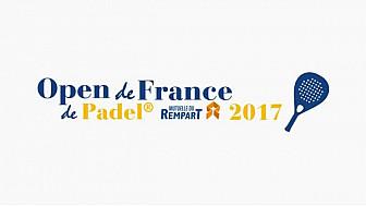 Laurence Arribagé adjointe au maire de Toulouse recevait l'Open de France de Padel et ses partenaires dont La Mutuelle du Rempart au Capitole le 7 septembre 2017