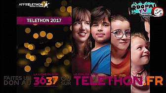Téléthon 2017 :  Gilbert Beauchamp Coordinateur du Pas de Calais au micro de Odopal TvLocale  @Telethon_France 