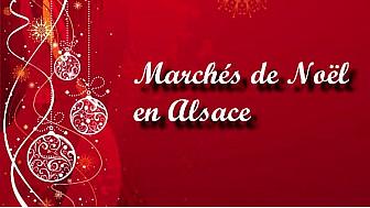 Marchés de Noël en Alsace, découvrez Riquewhir, Obernai et Colmar #TvLocale_fr