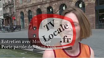 Monique, porte parole des sans voix, nous parle de la canicule, des actions et non actions des associations, et d'Emmaüs France