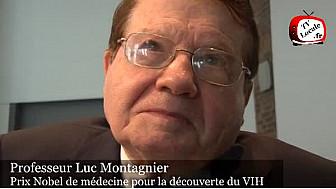 Le professeur#Luc Montagnier, prix Nobel de médecine pour la découverte du VIH, au micro de Tv Locale
