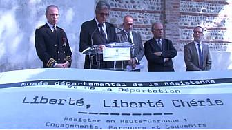 @HauteGaronne : 'Liberté, #LibertéChérie', le livre du Musée départemental de la #Résistance et de la déportation #CNR #TvLocale_fr