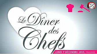 'Le Dîner des chefs', au profit de la Maison des Parents #FondationMcDonald #Toulouse @VincentClerc #TvLocale_fr