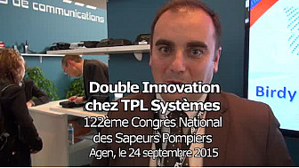 Vidéo 2'40''. Les 2 grandes innovations technologiques de TPL Systèmes.