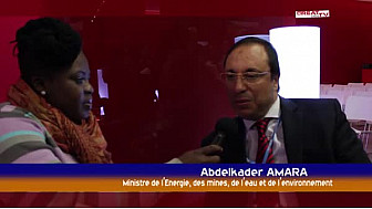 COP21: Entretien avec le Ministre marocain AMARA Abdelkader