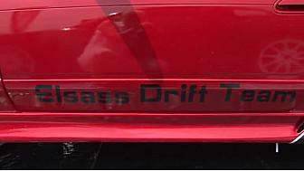 Drift: Dimiti et Romain de Elsass Drift Team étaient présents à l'Anneau du Rhin