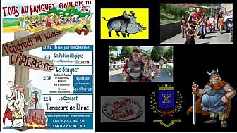 Chalabre :14 juillet Gaulois #Occitanie #chalabre #kercorb #audetourisme #TvLocale.fr