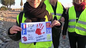 Manifestation des gilets jaunes Colomiers-Toulouse #Giletsjaunes #SansMoiLe17#toulouse #tvlocale.fr #smartrezo