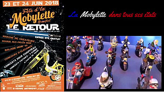 Fête de la #Mobylette à #Graulhet ! #velosolex  #tourismetarn #tvlocale.fr