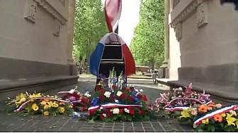 @Toulouse : 71e anniversaire de la victoire du #8Mai45. Les jeunes présents pour rendre hommage à ceux qui sont morts pour la France - Video #TvLocale_fr