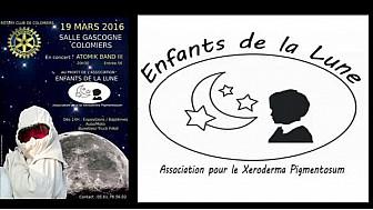 #RotaryClub de #Colomiers, Les enfants de la Lune @tvlocale_fr