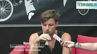 Interview Møme #lanuitdelerdre2018 #musiqueelctronique #festival @momeofficial