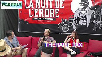 Interview Thérapie TAXI #lanuitdelerdre2018 #musiquepop #rap #rock @TherapieTaxi