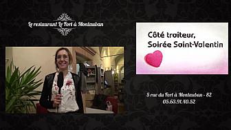 Restaurant Traiteur  Le Fort à Montauban - retour sur la soirée spéciale Saint Valentin