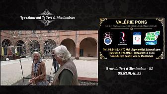 Chasse aux oeufs au Restaurant du Fort à Montauban : Quand  Valérie Pons, du restaurant du Fort parle d'inter-génération, elle ne fait pas les choses à moitié. Une très belle leçon de vie.