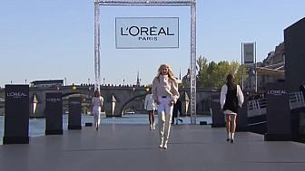 Le Défilé L'Oréal Paris : Revivez le premier show beauté et mode organisé sur la Seine et ouvert a tous. #LOREALPFW