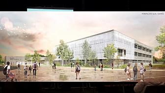 Christian Astruc confirme l'ouverture du Collège de Verdun-Sur-Garonne ouvrira ses portes en Septembre 2019 @ChristianAstruc @AurelieCorbino