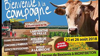Excellente 10ème édition de Bienvenue à la Campagne à la Ferme de Bexianis à Montbeton en Tran-et-Garonne @tarnetgaronne_CG