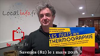 2ème Nuit thermographique dans la communauté de communes Grand Sud Tarn-et-Garonne à Savenes