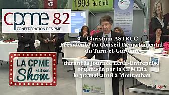 Christian ASTRUC Président du CD82 présent à l
