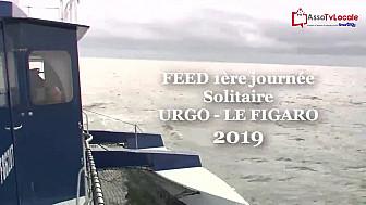 'Solitaire URGO - LE FIGARO 2019' FEED de la première journée en pleine Pétole...@LaSolitaire_50e