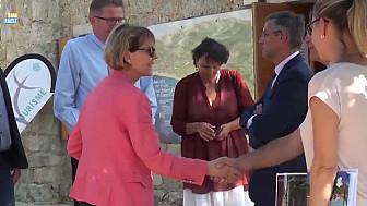 Josiane CHEVALIER Préfète de Corse en visite en Balagne @Prefet2A