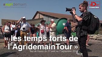 Tvdeschefs s'implique dans le monde agricole en étant partenaire de l'AgridemainTour