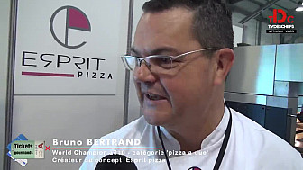 Tickets Gourmands n°3 de TVdesChefs: Bruno Bertrand et Simone Zanoni nous font découvrir la PIZZA avec la complicité de Cédric Bahuaud...@TVdeschefs @Smartrezo